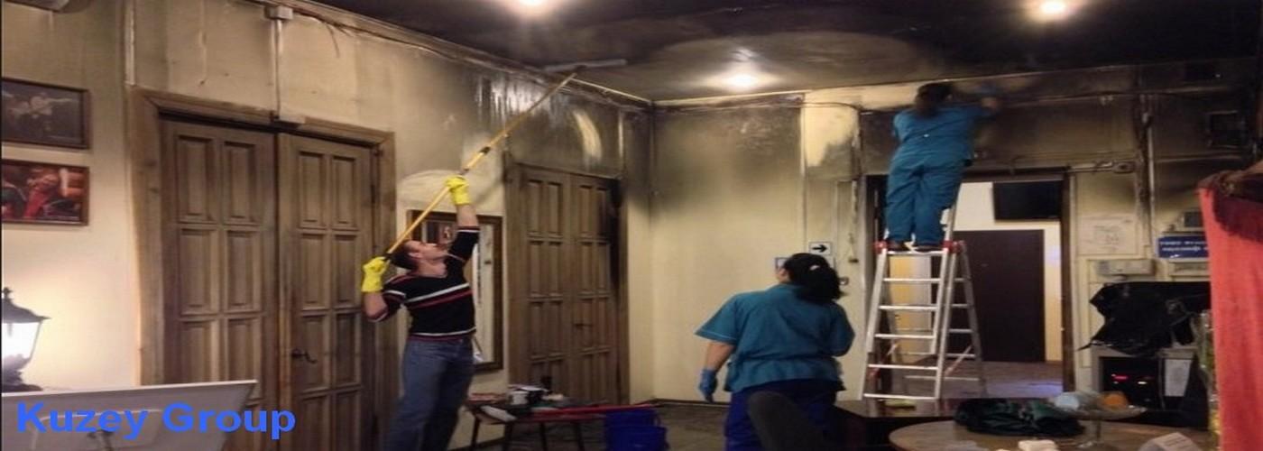 Yangın sonrası temizlik şirketi